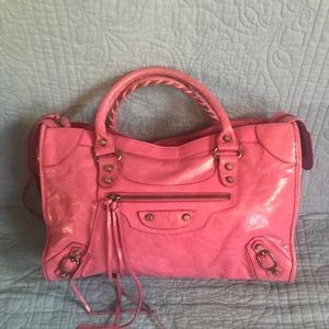 Balenciaga City Satchel Handbag